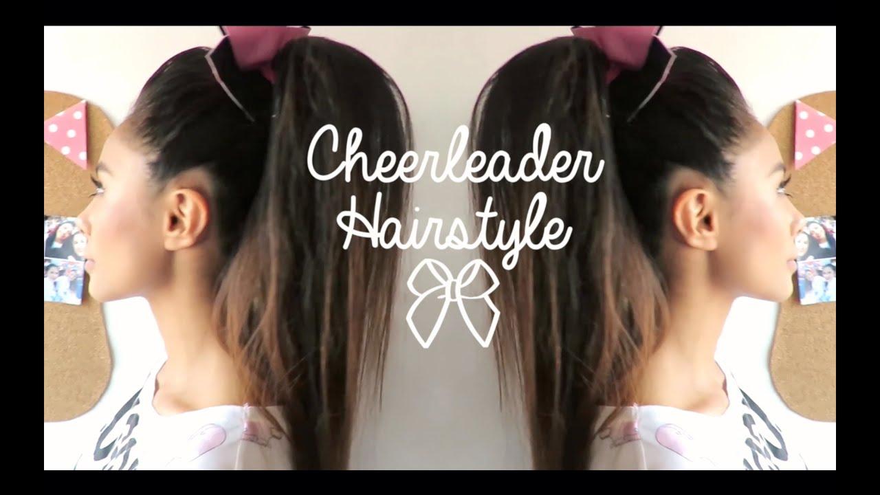 Cheerleader Hair Styles: Cheerleader Hairstyle ♡
