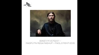 Boney M Vs many - Rasputin MEGA mashup - Paolo Monti 2015