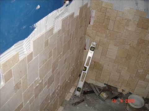 Atlanta Tile Installation , How To Build Shower From Very Begining ( 404.729.5007)