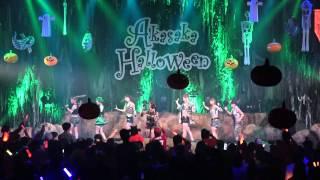 11月1日に赤坂BLITZで行われたAKASAKA HALLOWEEN 2014「アイドル×お笑い...
