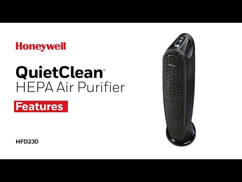 Honeywell QuietClean® Tower Air Purifier HFD230 - Product Features