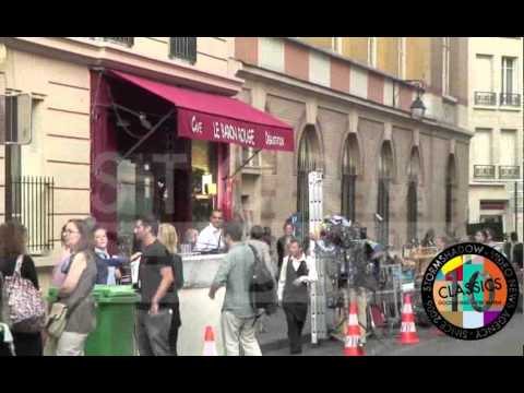 GOSSIP GIRL SHOOTING in Paris France Day 2 part1