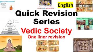 Quick Revision Series  (vedic age)