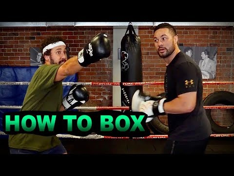 HOW TO BOX with Joseph Parker | HOW TO SPORT Series