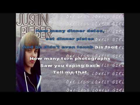 One Less Lonely Girl - Justin Bieber (Studio) [Instrumental/Karaoke]