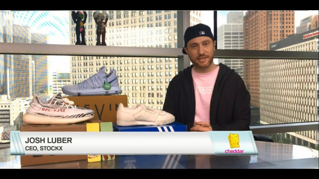 99b2d79f StockX Checks in with Cheddar After Game 2 of the NBA Finals - 6/5/2017