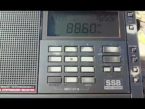 [Es] 88,6 MHz - TRTNagme Izmir (1740 km)&Baba Radio Istanbul Ankara (1384 km) [pres.]