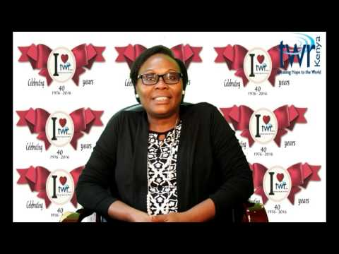 Life begins @ 40 - Message from TWR Kenya  Director Bernice Batere