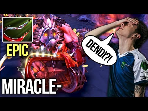 Miracle- Pudge with Hooks like Dendi - Amazing Skills + New Set - Dota 2