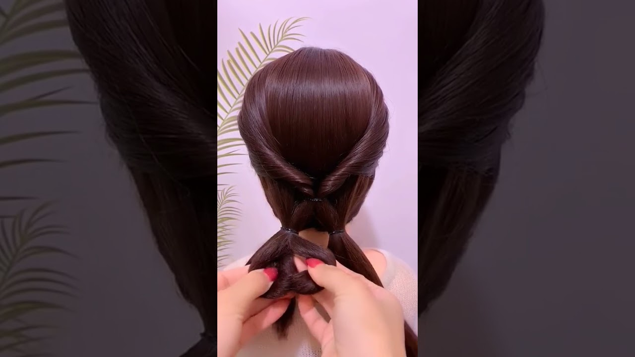 Super simple hairstyle, learn it quickly #Shorts