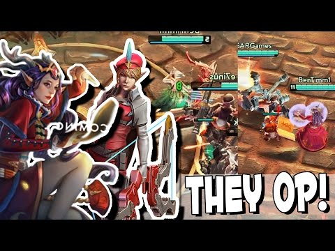Vainglory - Kestrel Invis & Lyra Heal OP! [Battle Royale Gameplay]