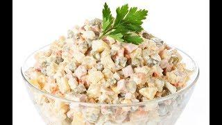 ВКУСНЕЙШИЙ САЛАТ ОЛИВЬЕ. Как приготовить салат Оливье?!
