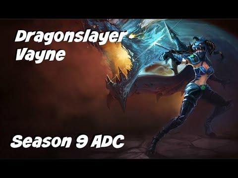 League of Legends: Dragonslayer Vayne ADC Gameplay
