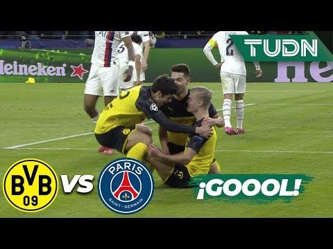 ¡Gool de Haland! | Borussia Dort 1 - 0 PSG | Champions League - 8vos Final | TUDN