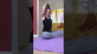 Yoga voor nek en schouder gebied
