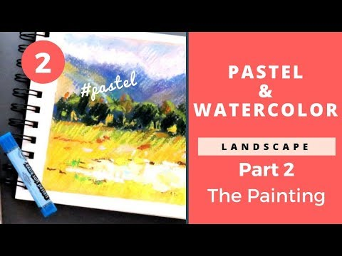 Pastel Painting Technique and Review: Part 2