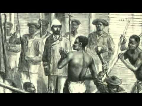 Schläge für den dicken Sklaven