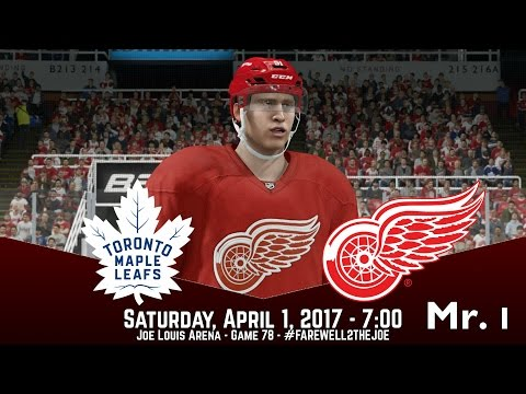 Toronto Maple Leafs @ Detroit Red Wings - NHL 17