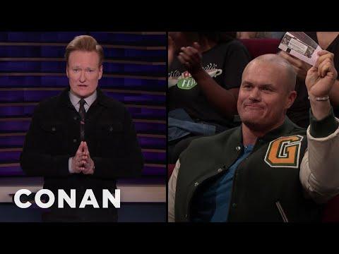 Conan Gives Away #ConanCon Tickets - CONAN on TBS