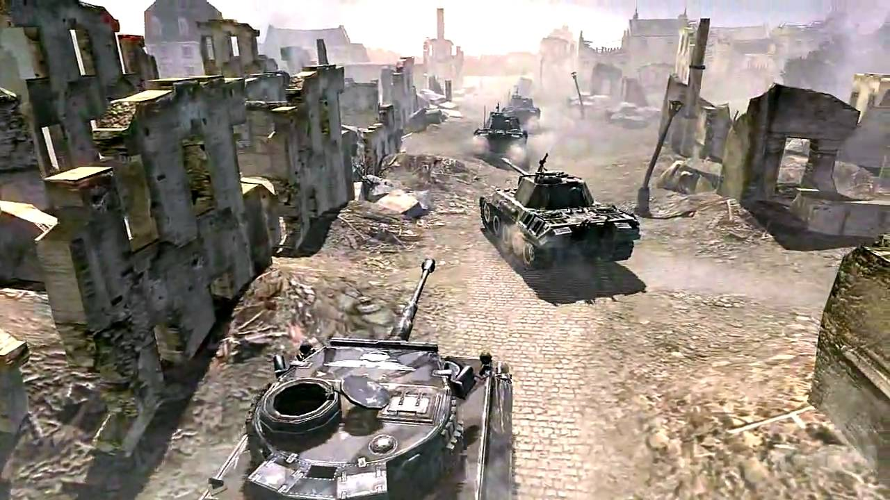 Company Of Heroes Online Pc Trailer Youtube