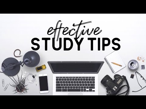 How To Study Effectively For FINALS // study tips