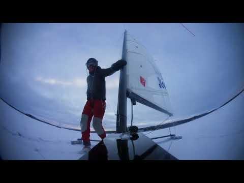 DN Ice Sailing - All Saints Regatta, Ranua Finland, 2017-11-19 SD