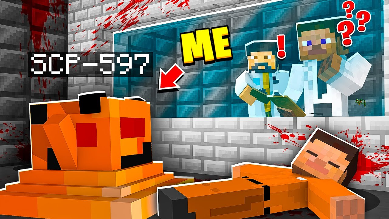 I Became SCP-597 in MINECRAFT! - Minecraft Trolling Video