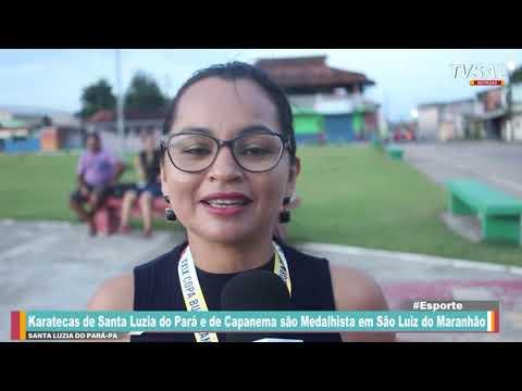 Karatecas de Santa Luzia do Pará e de Capanema são Medalhista em São Luiz do Maranhão