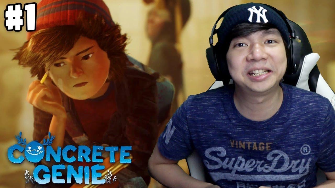Anak Yang TerBully - Concrete Genie Indonesia Part 1
