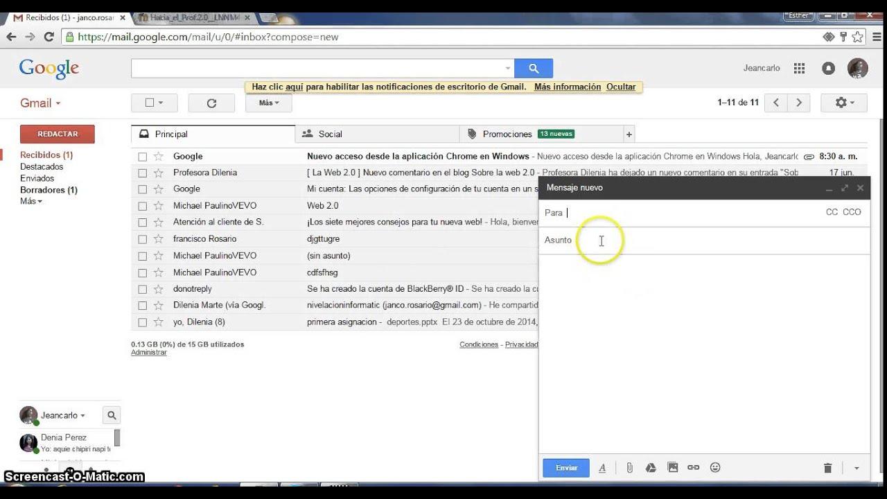 Como Enviar Un Archivo De Word Por Gmail