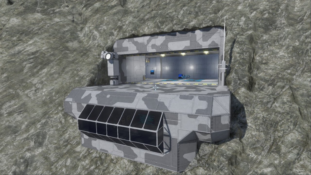 Space Engineers How To Build A Base