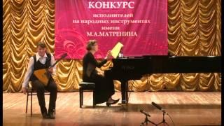 """Васильева Екатерина Вячеславовна, номинация """"Балалайка"""", 1 тур"""