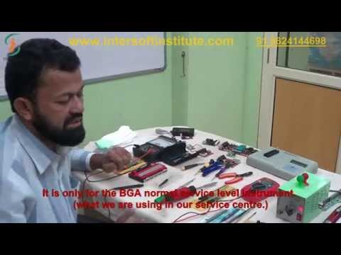 Laptop repair training service tools video