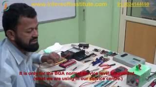 Laptop repair training service tools video
