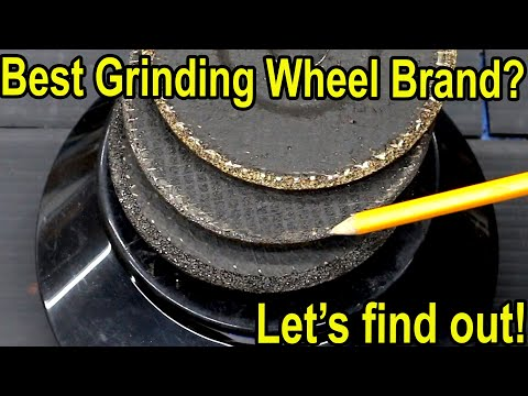 Which Metal Grinding Wheel Is Best Let S Find Out Youtube