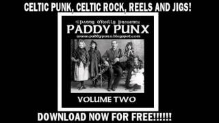 PADDY PUNX VOLUME 2 - Celtic Punk, Irish Punk, Rebel Music! 199 BAND COMP!!! FREE DOWNLOAD!!!!