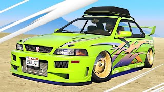New FAST AND FURIOUS Sultan Classic in GTA 5! (Insane)