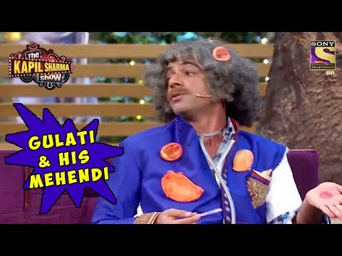 Dr. Mashoor Gulati & His Mehendi – The Kapil Sharma Show