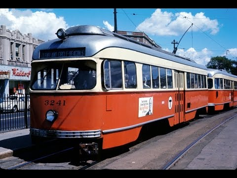 Boston Trolleys September 1967 including the Watertown Line