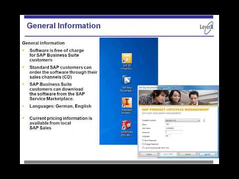 SAP Document Management The Easy Way Video Preview 2014 03 20