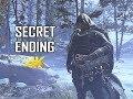 GOD OF WAR Gameplay Walkthrough Part 50 - SECRET ENDING (PS4 PRO 4K Commentary 2018)
