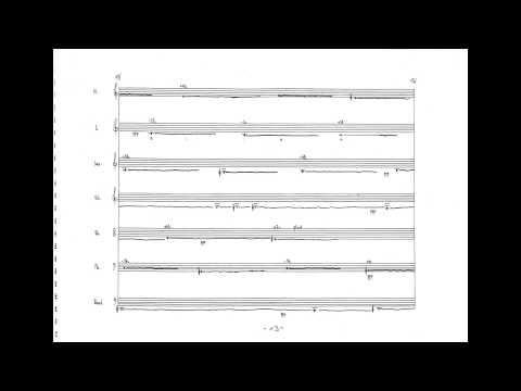 Klaus Lang - Der Weg des Prinzen I (w/ score) (for chamber ensemble) (1996)