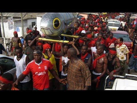 Documentaire  Ghana, sépultures sur mesure