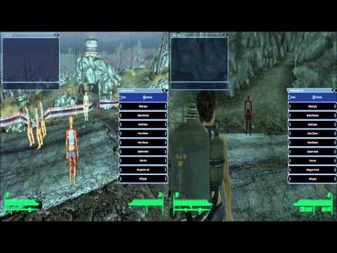 Check out this Fallout 3 multiplayer mod for the PC