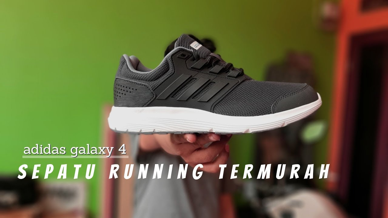 ADIDAS GALAXY 4 | sepatu running adidas TERMURAH