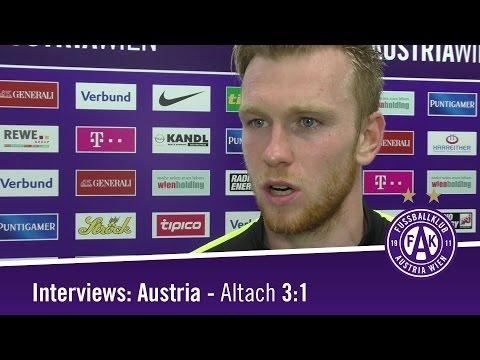 Interviews zu Austria - Altach 3:1