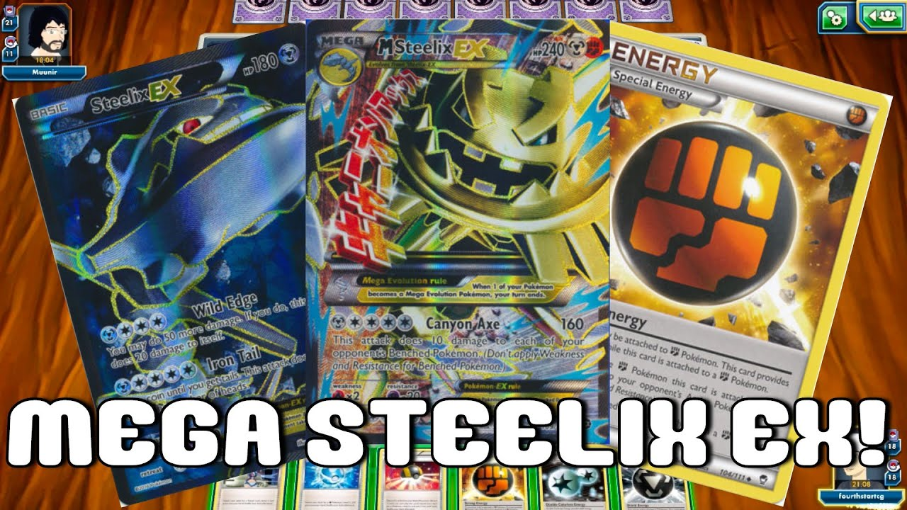 New Steam Siege Mega Steelix Ex Deck Prc On Have Fun And Lose Every Game Pokemon Tcg