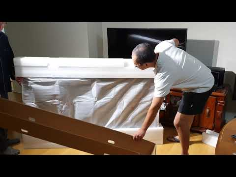 Kogan 75 Inch 4K TV Part 2 - Unboxing (Series 8 JU8100)