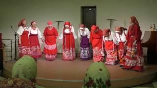 Фекла.  Коллекция Олонецких рубах. Русский народный костюм.