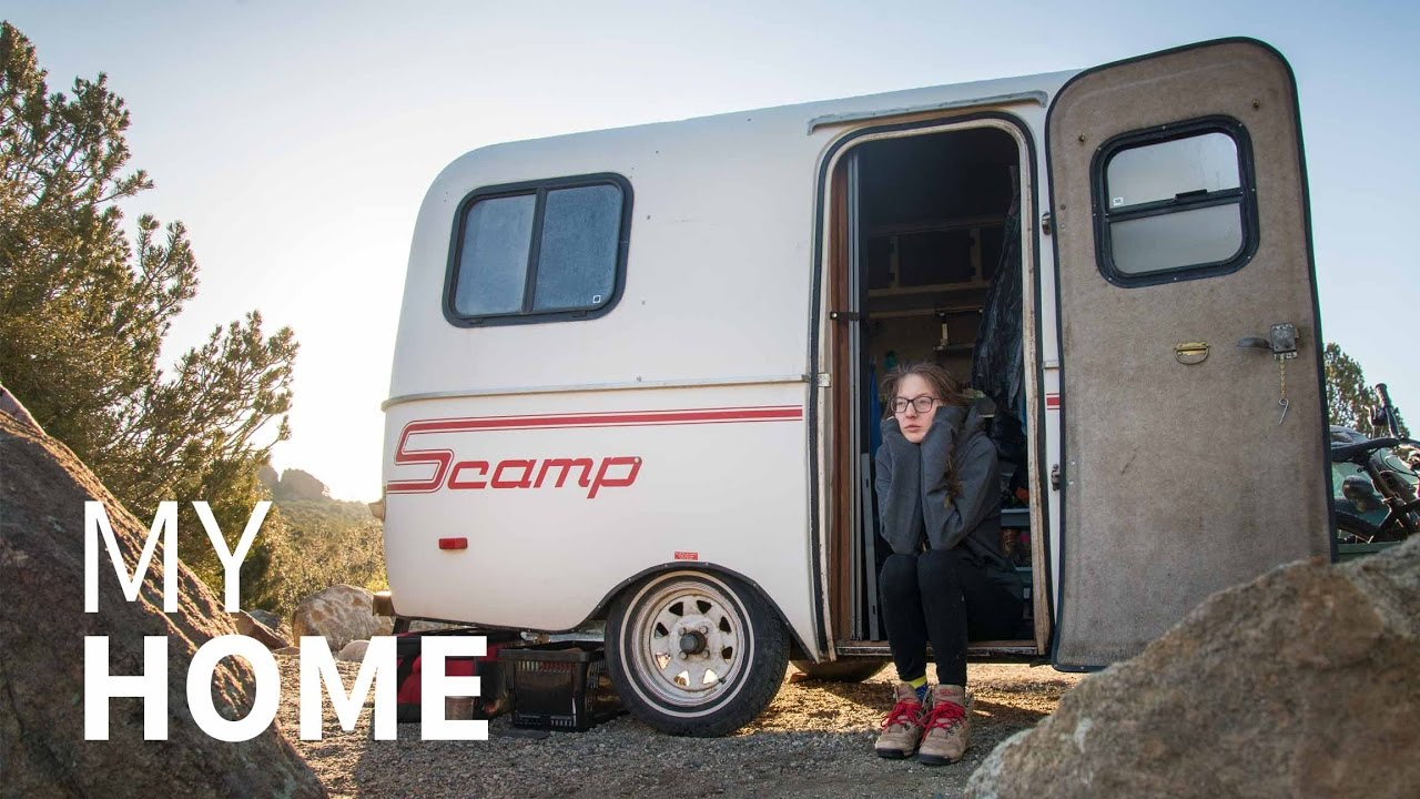 This is Where I Live | 13ft Scamp Trailer